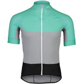 POC Essential Road Light Jersey Men fluorite green/alloy grey